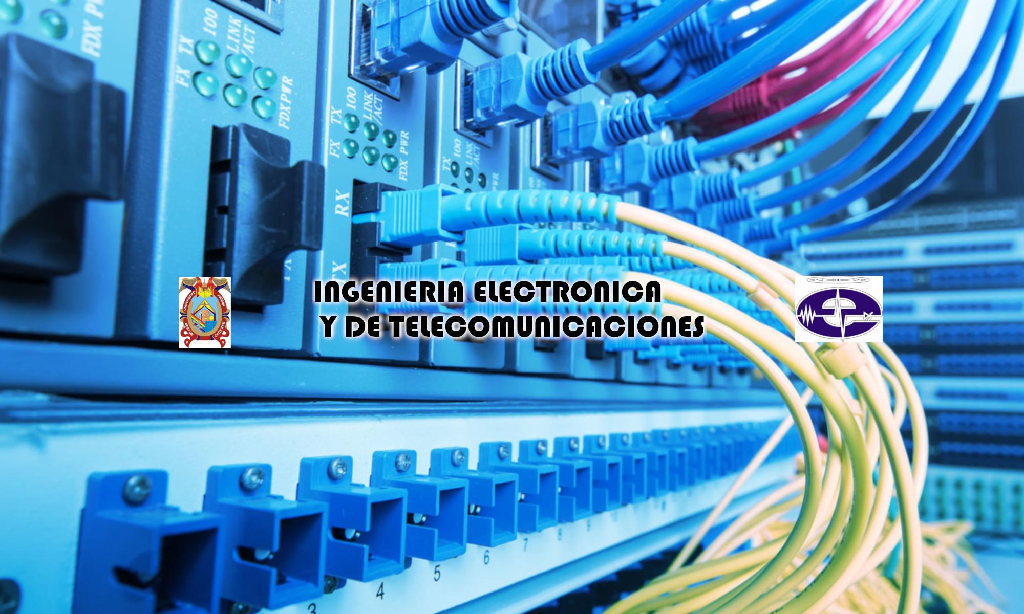 Escuela Profesional de Ingeniería Electrónica y Telecomunicaciones